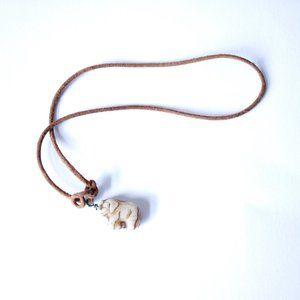 • the vtg boho elephant anklet